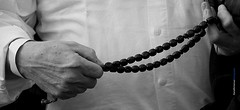 Counting our blessings (Maria Michalinos-www.debop.gr/deBlog/the-athenians) Tags: hands bw worrybeads komboloi  greece blessings thankful gratitude love ilobsterit