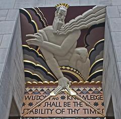 Rockefeller Plaza NYC NY (dog97209) Tags: plaza nyc ny be knowledge times wisdom rockefeller shall stability