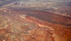 2016_06_02_lax-ewr_500 (dsearls) Tags: river utah flying desert aviation united country canyon aerial erosion rivers geology ual canyons arid aerialphotography jurassic stratigraphy unitedairlines windowseat windowshot weathering 20160602