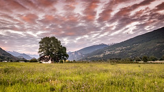 Sion airport view (Jeton Bajrami) Tags: sion switzerland airports airport art landscape goldenhour 2016 sony alpha77 a77