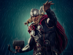 Modern Thor | Statue | Sideshow Collectibles (leadin2) Tags: statue modern canon comic god figure format thor marvel thunder premium collectibles sideshow avengers asgard asgardian of