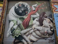 Zed1 (sblaurock) Tags: streetart newyorkcity zed1 queens wellingcourtmuralproject