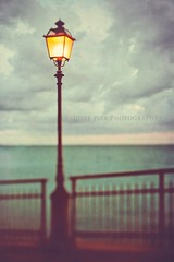Be the light of my lantern... (Juste Pixx) Tags: ocean light sea summer sky italy clouds fence europe mediterranean liguria dreamy lantern sori textured hff travelphotography
