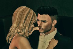 Love (Trixie Pinelli) Tags: portrait love daddy couple mesh icon lovers sl blond secondlife cuddles tableauvivant tmp kauna thechamber virtualphotography maitreya meshhead secondlifephotography meshbody argrace lelutka deaddollz themeshproject