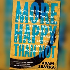 I have loved every page of this book. Aaron had broken my heart & mended it back together. Thank you @adamsilvera for writing this! #yearofya (PTank Media Center) Tags: broken writing for this book back heart you aaron it have thank every together page had loved mended i yearofya adamsilvera