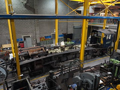 Sir Nigel Gresley (Megashorts) Tags: york uk england museum pacific yorkshire engine railway olympus steam workshop pro locomotive a4 f28 nationalrailwaymuseum omd lner em10 mzd 4498 1240mm sirnigelgresley 60007