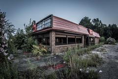 Abandoned Restaurant (treydavisonline) Tags: abandoned restaurant food architecture fast burgers photography drive through building rundown dilapidated