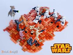 Battle of Geonosis (Brick Knight) Tags: moc lego starwars