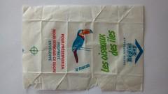 Srie Oiseaux des les - Toucan 01 (periglycophile) Tags: priglycophilie sucrology sugar packet sucre morceaux cube france beghin say oiseaux des les toucan