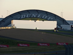 Dunlop Bridge (BenGPhotos) Tags: 2016 car motorsport event race racing autosport sports motor sport le mans 24 hours 24h du dunlop bridge esses ford gt gte chip ganassi extreme speed motorsports ligier js p2 nissan lmp prototype