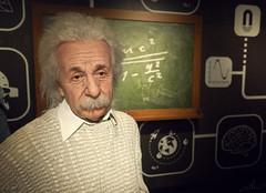 Albert Einstein (Thomas Heuck) Tags: wien vienna madame tussauds prater einstein albert physik