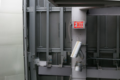 WDCH Exit (dannynavarrophoto) Tags: 00s 2000s ca gehry la losangeles waltdisneyconcerthall architecture california contemporary evil foreboding intimidating modern oppressive postmodern security steel surveillance