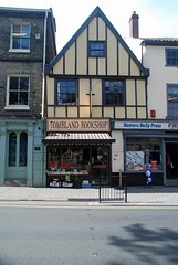 Tombland Bookshop (i_gallagher) Tags: idg 2016 norwich bookshop secondhand antiquarian facade building 15thcentury harveys books literature selling