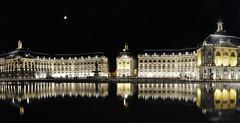 Bordeaux - Place de la bourse (Shoyun) Tags: bordeaux placedelabourse nightshot photodenuit longexposure expositionlongue miroirdeau nikon d5100 1855mm nikonafsdxnikkor1855mmf3556gvr shoyun