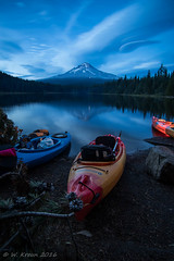 IMGP1267.jpg (wkreun) Tags: reflection mthood oregon trilliumlake kayak dusk