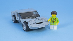 Lamborghini Miura (MacSergey) Tags: lego car miura lamborghini sport super retro
