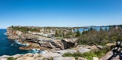 Watsons Bay (Myreality2) Tags: australia ocean panorama sea sydney bluesky cliff watsonsbay newsouthwales au