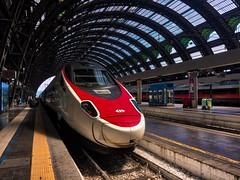 Milano Centrale - iPhone (Jim Nix / Nomadic Pursuits) Tags: iphone travel europe italy milan train trainstation jimnix nomadicpursuits macphun aurorahdr2017 tracks