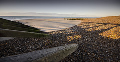 Climping Groynes (Richard Paterson) Tags: littlehampton climping beach shingle groynes shadows seasacpe sea
