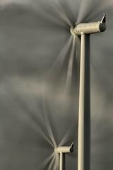 'Propellers' (HDR) (AbsoluteFolly) Tags: turbine hdr windturbine windfarm griffinwindfarm