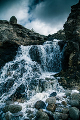 Waterfall (1 of 1) (Odd Jim) Tags: landscapes cornwall seascapes sigma70200 canon24105 canon6d
