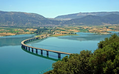 Greece, Macedonia, curved bridge over the lake of Polyfitos, Aliakmonas river, Kozani (Macedonia Travel & News) Tags: macedonia west ancient culture vergina sun florina hellenic republic mavrovo nato eu fifa uefa un fiba greecemacedonia macedonianstar verginasun aegeansea 216629 224614824n macedoniagreece makedonia timeless macedonian macédoine mazedonien μακεδονια македонија travel prilep tetovo bitola kumanovo veles gostivar strumica stip struga negotino kavadarsi gevgelija skopje debar matka ohrid heraclea lyncestis
