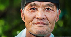 portrait of South-Korean man... (ioannis lelakis) Tags: portrait man traditional korea wonju