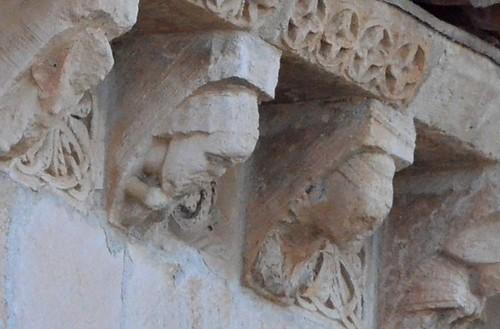 Madroña (Castille et Léon), Virgen de la Cerca - sculpture romane - 12