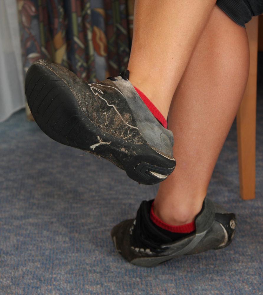 Adidas Sandals Fetish