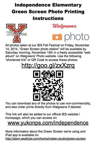 Fall Festival Green Screen Flyer by Wesley Fryer, on Flickr