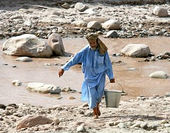 The Water Bearer (Trouvaille Blue) Tags: afghanistan bucket afghan waterbearer nangarhar trouvailleblue