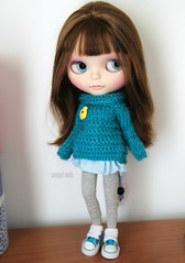 Blossom is my latest custom girl and last one of 2014 :)