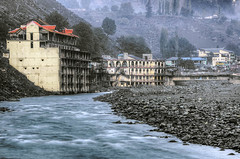 Kalam  on river Swat kpk Pakistan (saleem shahid) Tags:
