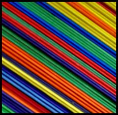 Diagonal Lines of Multiple Colors -:- 3835 (buddhadog) Tags: multiplecolors 2wins diagonallines multicolors g2haiku mm108 500vu 800 challengeyouwinner cccwin ccc