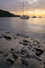 Last light of day (Malachi80) Tags: sunset meer warm sonnenuntergang sommer urlaub highcontrast caribbean tropics guadeloupe karibik tropen