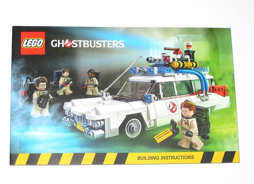 Lego 21108 Lego Ideas Ghostbusters Ecto Mobile 2014 Building