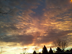 December 9, 2014 - Beautiful sunrise as seen from Broomfield. (David Canfield)
