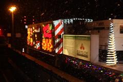 2014 CalTrain Christmas Train (CaliforniaRailfan101 Photography) Tags: christmas holiday yard caltrain amtrak local ge mpi bombardier capitolcorridor coaststarlight emd babybullet santaclaraca f59phi amtk amtrakcalifornia cdtx mp15dc mp36ph3c cabcar f40ph2 p42dc f40ph2cat jpbx caltrainchristmastrain coaststarlight11 f40ph2c mpxpress collegeparkmaintenanceyard