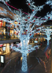 Liverpool One Light Tree (.annajane) Tags: christmas longexposure decorations light tree liverpool shopping lights decoration merseyside liverpoolone livecomposite