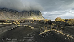 20141016_105531_DxO (kaioyang) Tags: travel beach nature landscape blacksand iceland mt wilderness vestrahorn stokksnes