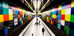colorful subway 1 (08dreizehn) Tags: colors subway mnchen bayern deutschland europa ubahn architektur verkehr muenchen farben georgbrauchlering nikond90 dedeutschland afsdxnikkor18200mm13556gedvrii 08dreizehn nullachtdreizehn thomashassel