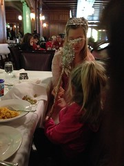 """Inde Holds the Fairy Princess' Wand at the Walnut Room • <a style=""""font-size:0.8em;"""" href=""""http://www.flickr.com/photos/109120354@N07/16092953861/"""" target=""""_blank"""">View on Flickr</a>"""