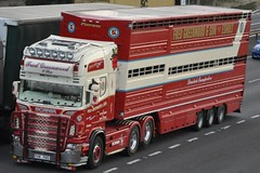 Fred Greenwood Scania R580 V  8 FGS (truck_photos) Tags: