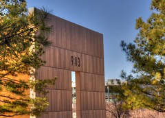 OKC National Memorial (zendt66) Tags: photo nikon memorial assignment national theme alfred okc weekly challenge hdr oklahomacity murrah d90 photomatix zendt66 52weeks2015
