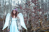 8 (myriam.lizarralde) Tags: pink flowers trees light woman bird girl angel forest butterfly book fly wings wolf young libelula bosque aralar
