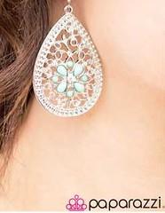 Glimpse of Malibu Green Earrings K2 P5812-5