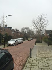 Pienemanstraat (wouterdejong1) Tags: street winter cold cars de quiet cloudy wouter v2 jong parkingspaces 2014 hva abcoude cmda pienemanstraat jongju