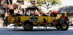 1925  Yellowstone Touring Bus (Prayitno / Thank you for (11 millions +) views) Tags: california ca original roses bus classic rose yellow vintage tour antique parade tournament yellowstone pasadena touring 1925 2015 konomark