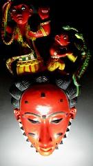 Masque (1) (johnslides//199) Tags: art museum mask head african carving muse tradition figurine mim afrique masques guimet sorcier culte ethno tribus branly idole ethnie ethnographie sorcellerie museebranly serments guerison masquesguerriers