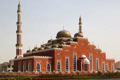Al Salam Mosque... (John Konstandis) Tags: dubai uae mosque unitedarabemirates albarsha alsalammosque